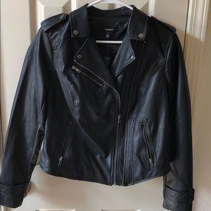 TORRID NWT Faux Leather Moto Jacket